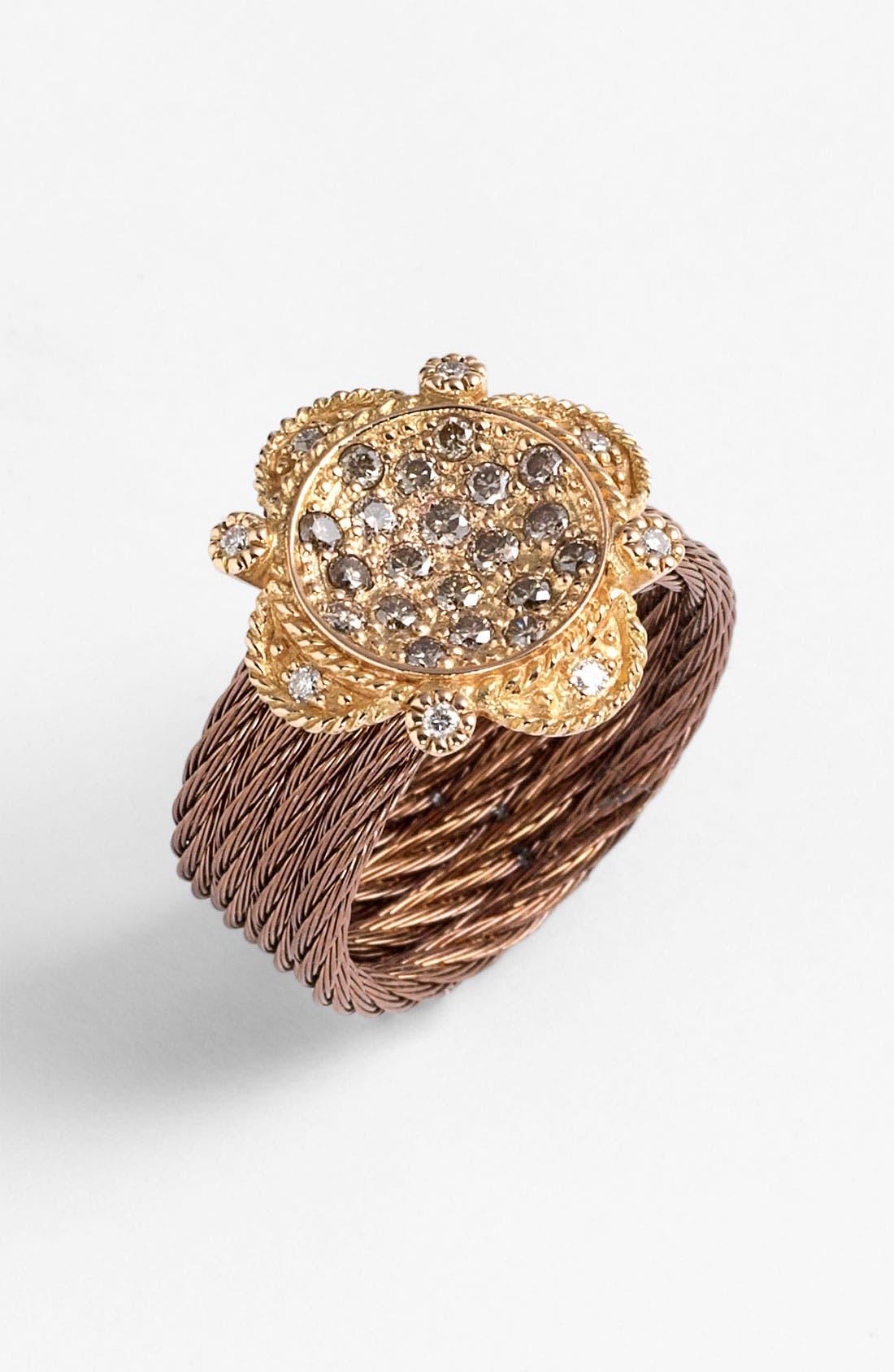 Alternate Image 1 Selected - ALOR® Champagne Diamond Ring