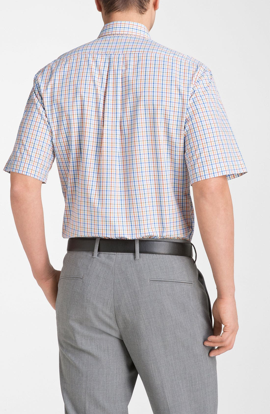 Alternate Image 2  - Peter Millar Regular Fit Check Sport Shirt