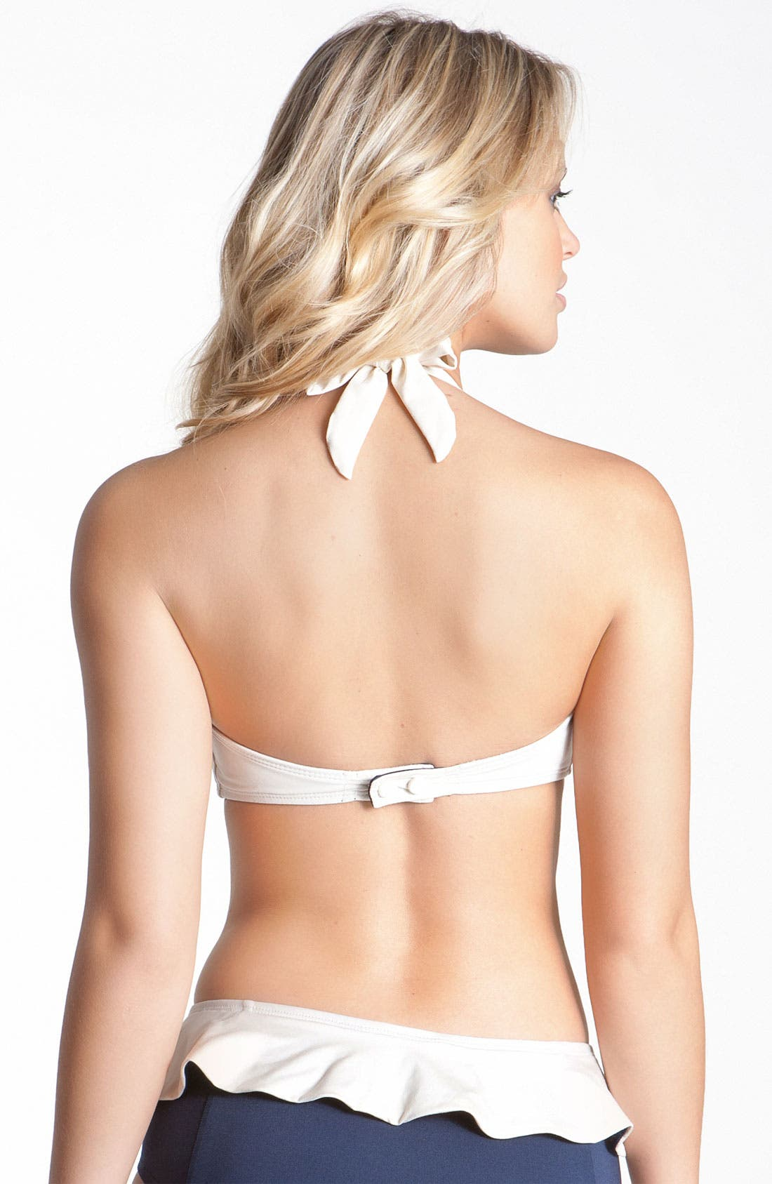 Alternate Image 2  - MARC BY MARC JACOBS Colorblock Halter Bikini Top