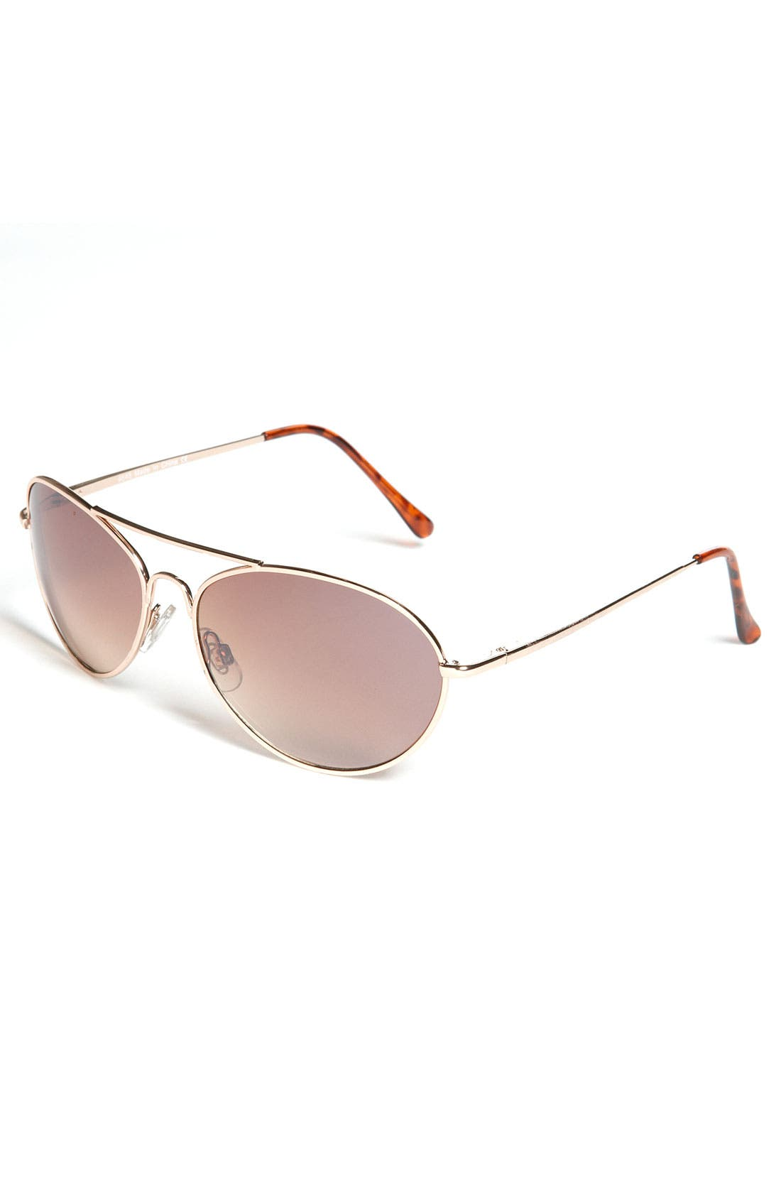 Alternate Image 1 Selected - KW Aviator Sunglasses (Big Boys)