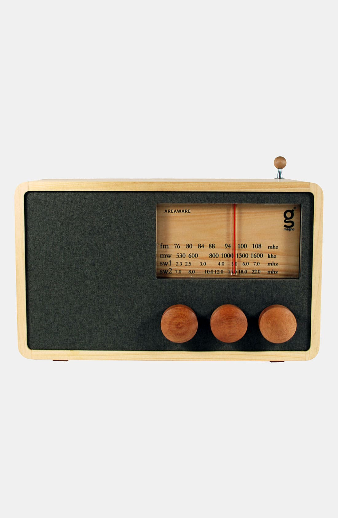 Alternate Image 2  - Handcrafted Pine & Mahogany 'Magno' Radio, Large