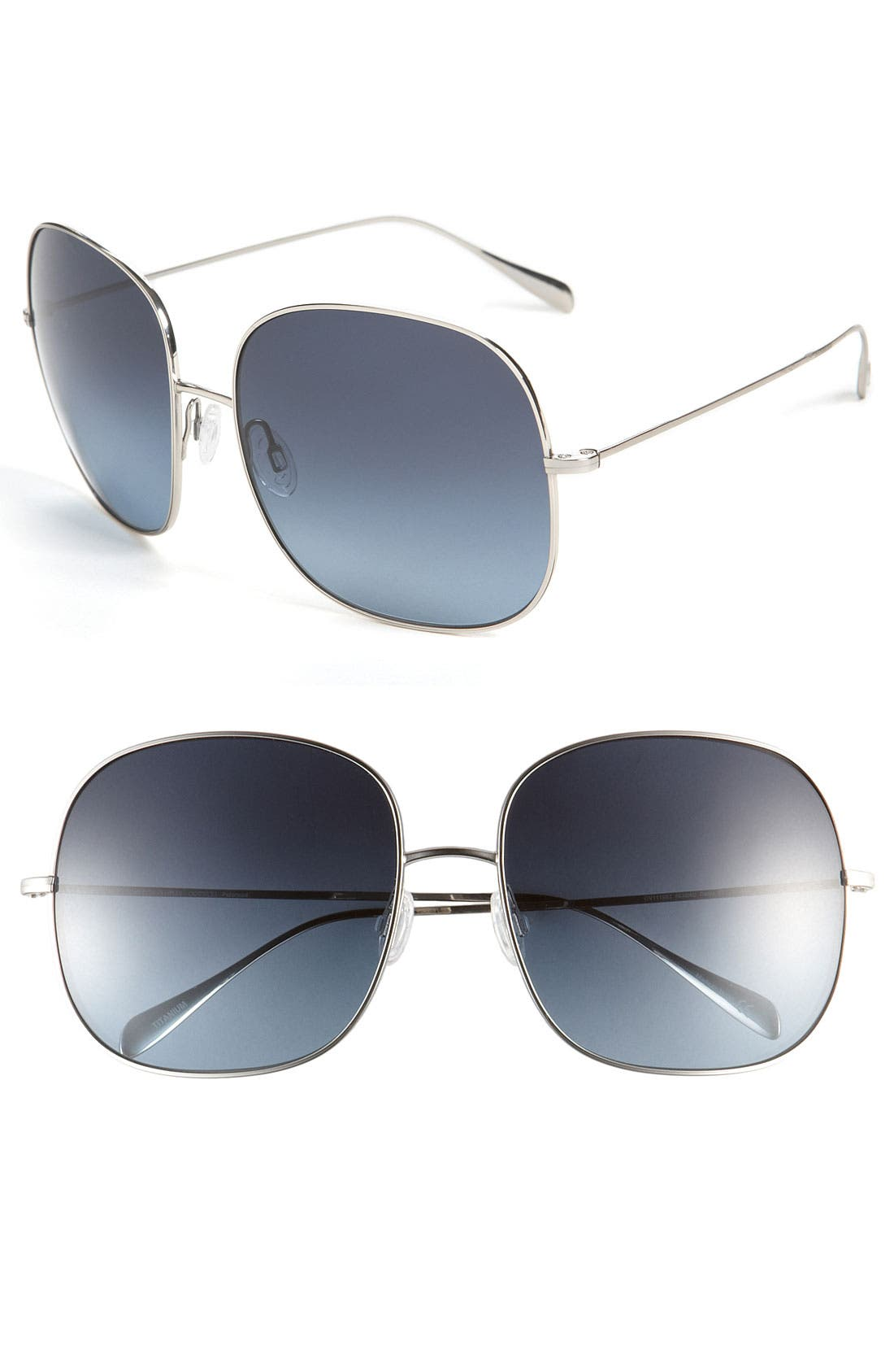 Alternate Image 1 Selected - Oliver Peoples Polarized Sunglasses