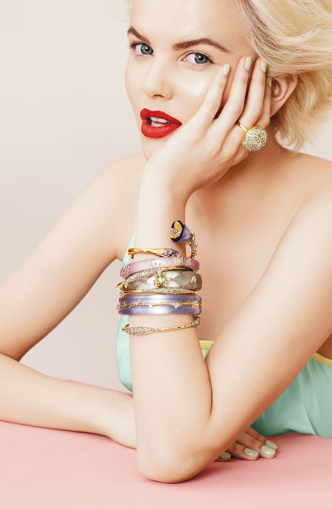 Alternate Image 2  - Alexis Bittar 'Miss Havisham' Crystal Encrusted Sphere Ring