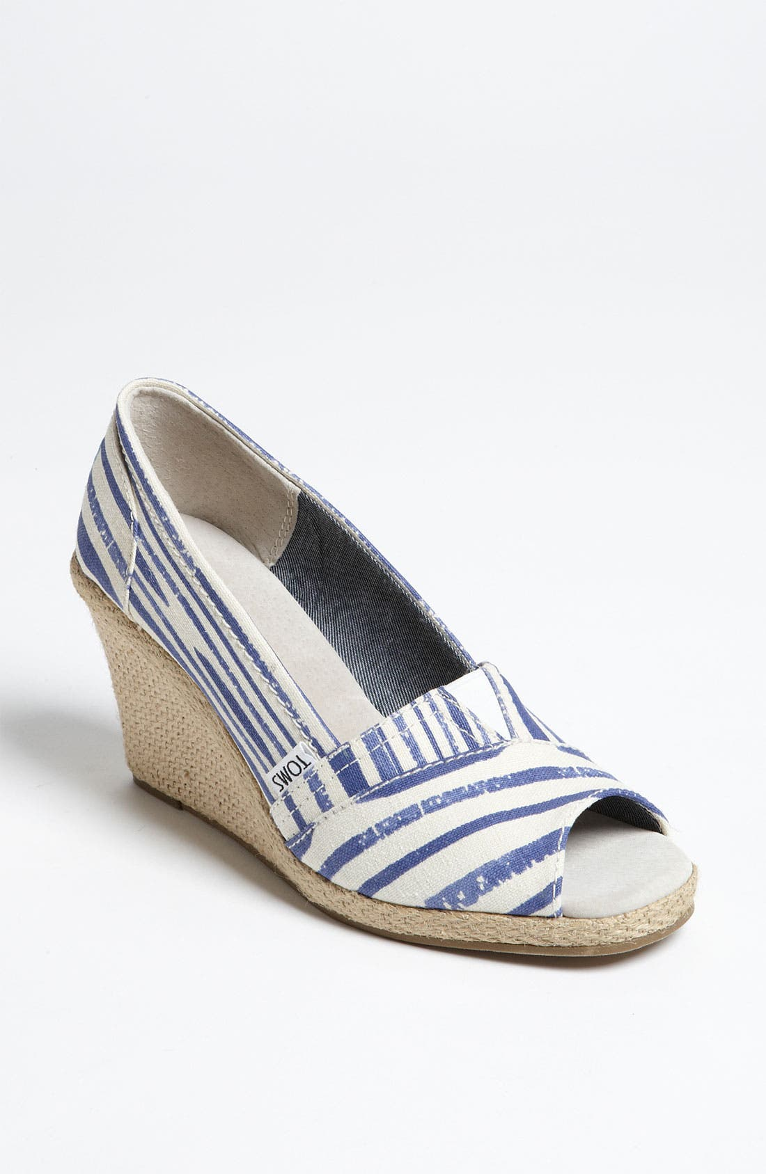 Alternate Image 1 Selected - TOMS 'Painted' Wedge (Exclusive)
