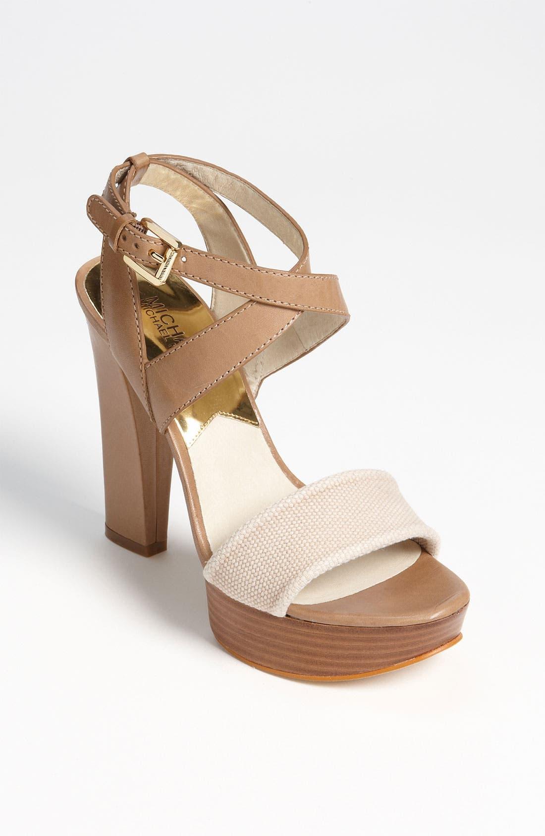 Main Image - MICHAEL Michael Kors 'Nadina' Sandal