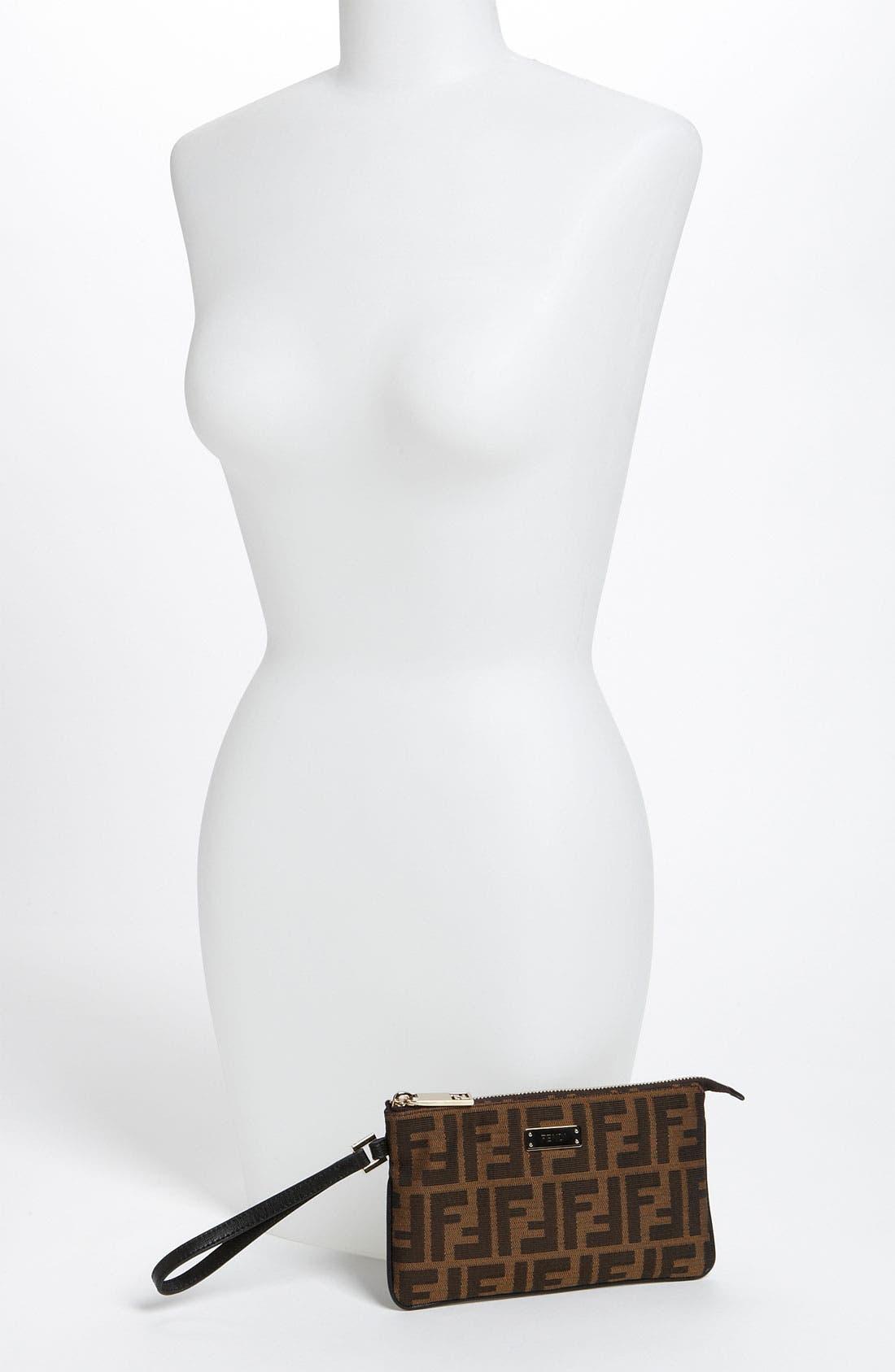 Alternate Image 2  - Fendi 'Zucca' Wristlet