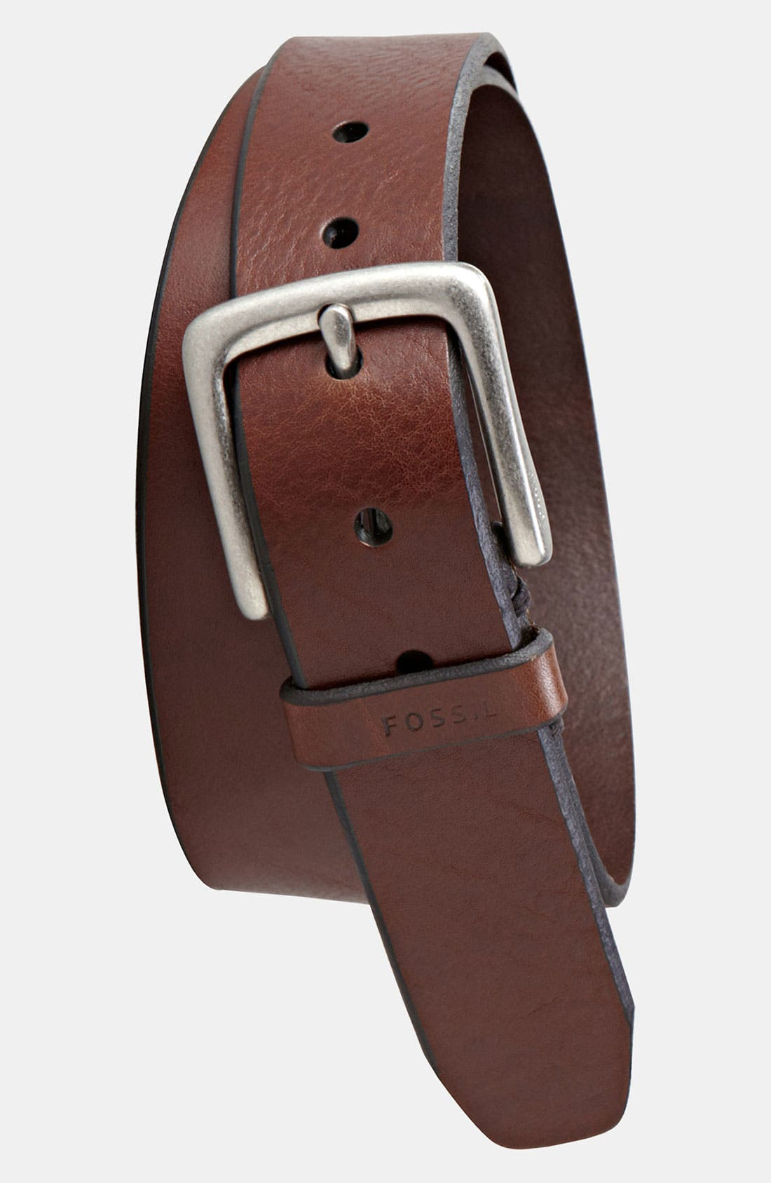 Alternate Image 1 Selected - Fossil 'Joe' Leather Belt