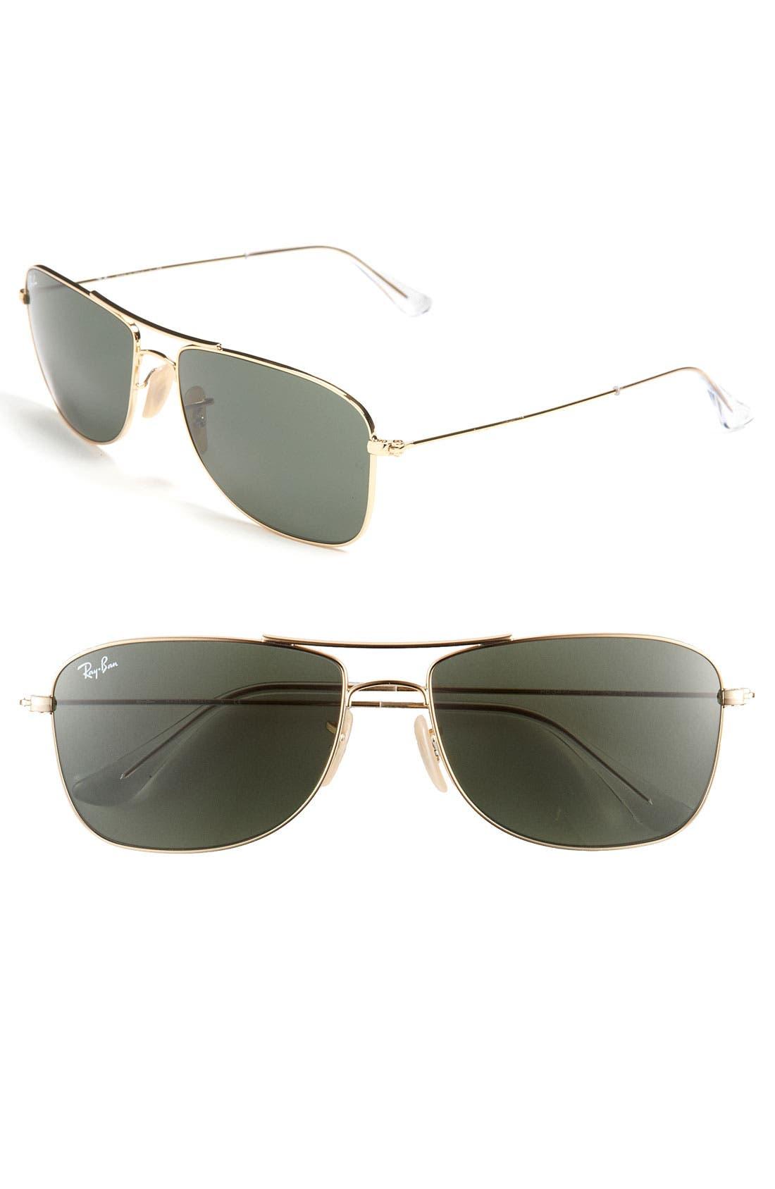 Main Image - Ray-Ban 59mm Navigator Sunglasses