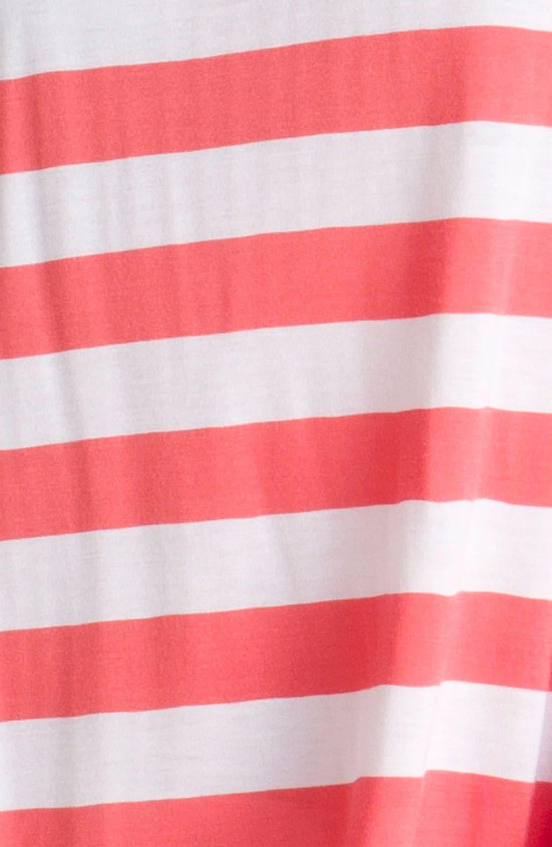 Alternate Image 3  - Current Affair Drape Back Stripe Tee