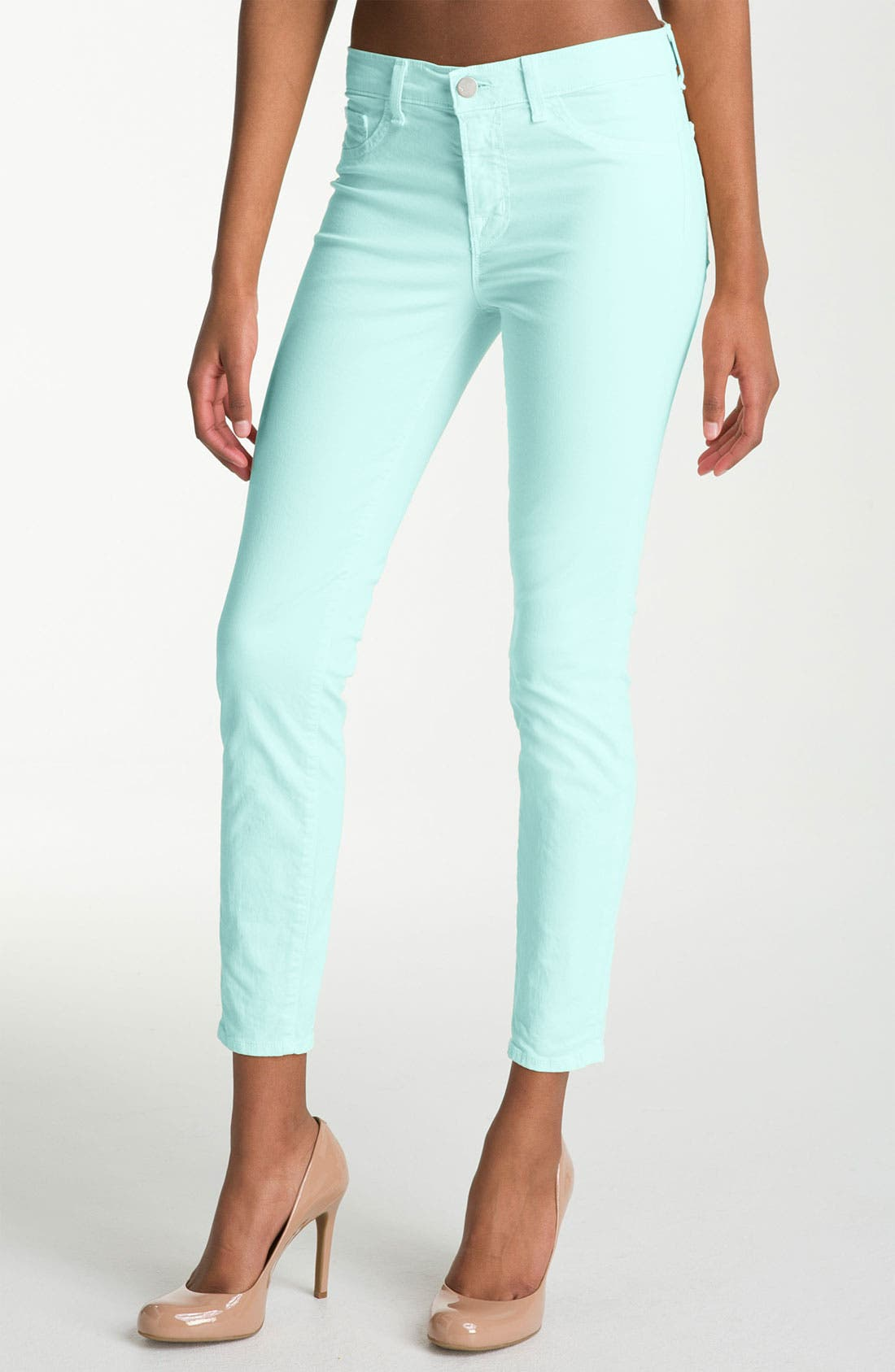 Main Image - J Brand Overdyed Skinny Jeans