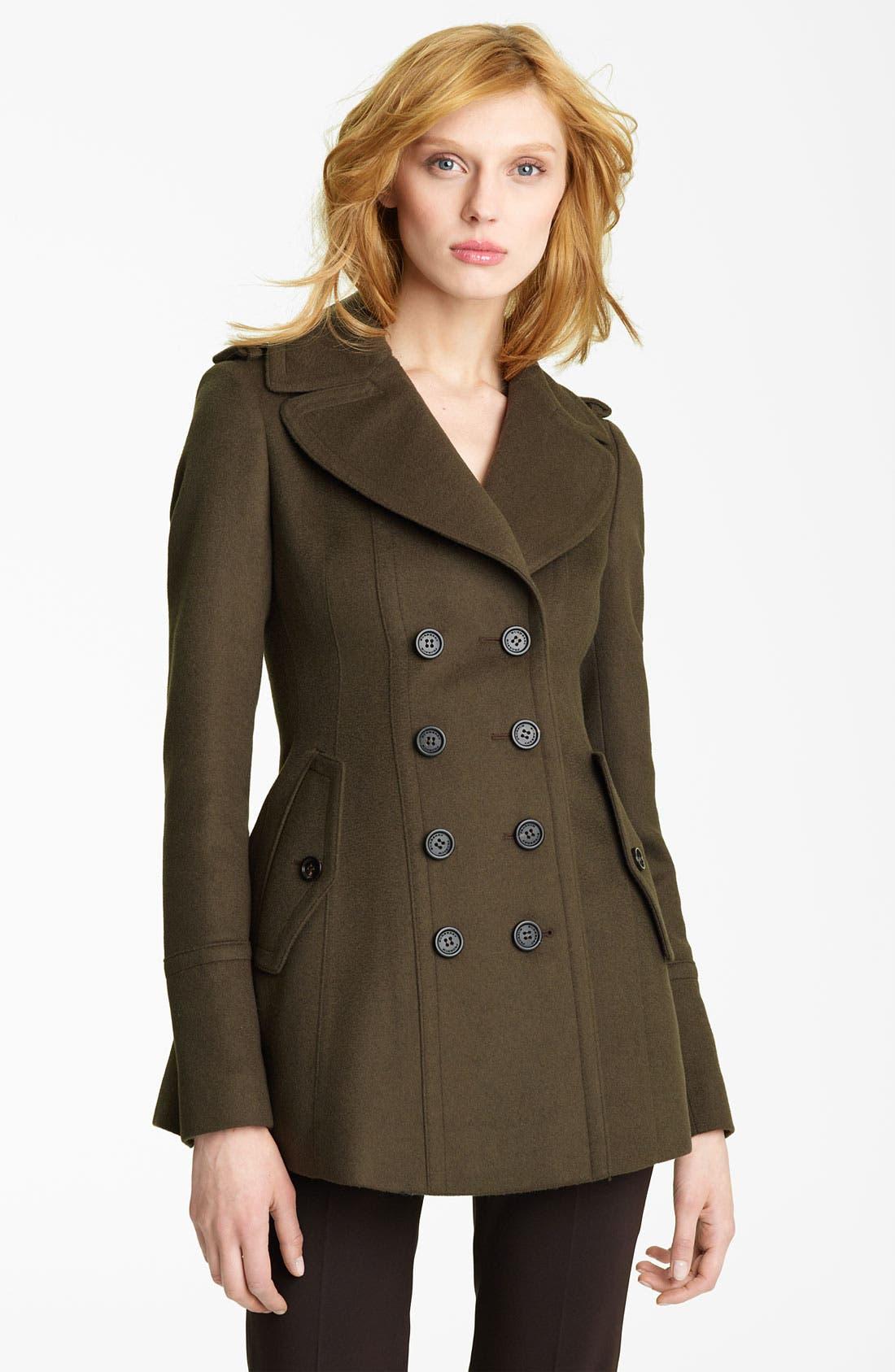 Alternate Image 1 Selected - Burberry Prorsum Wool & Cashmere Coat
