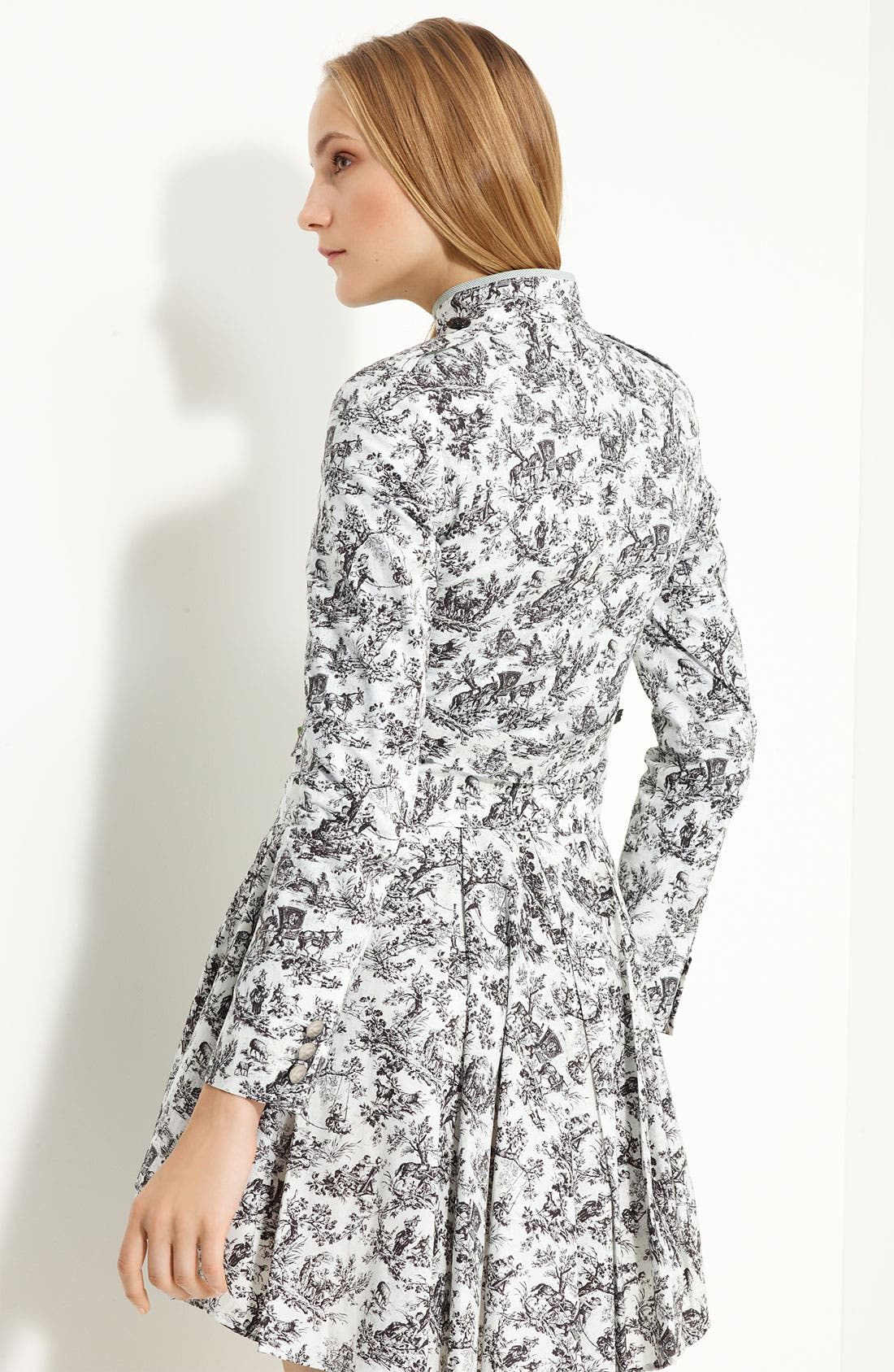 Alternate Image 2  - Band of Outsiders Cotton Toile Military Jacket