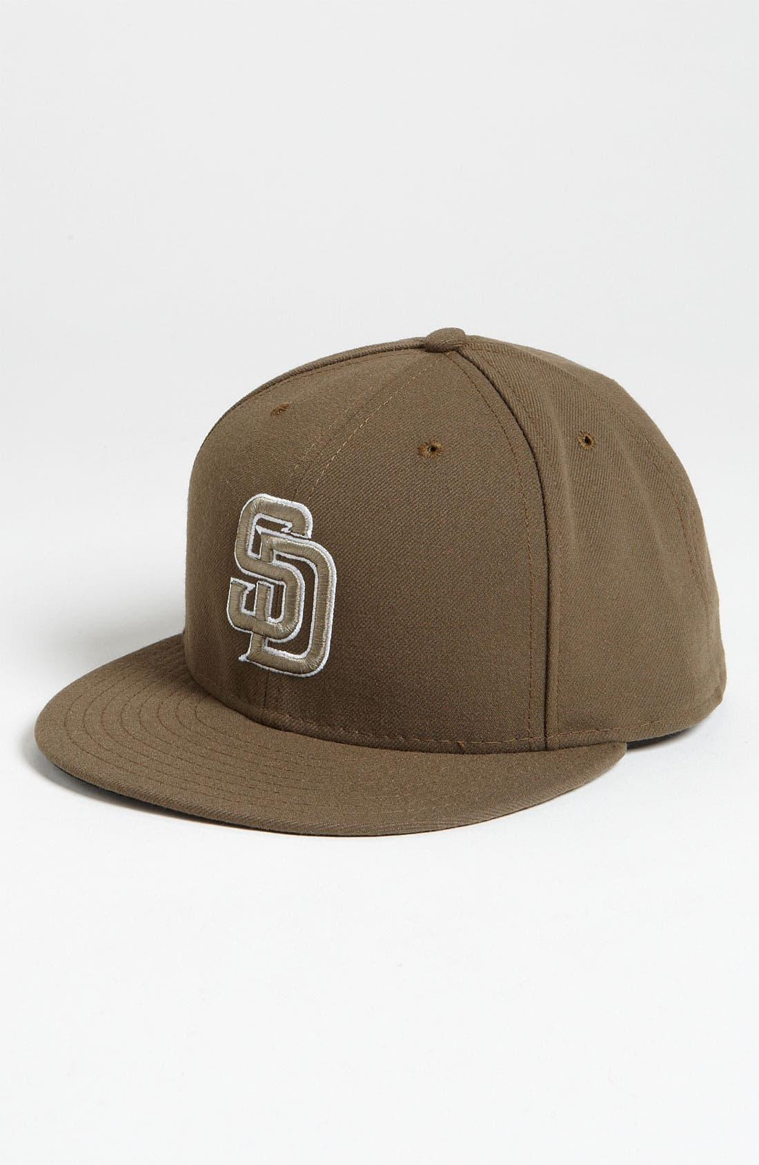 Alternate Image 1 Selected - New Era Cap 'San Diego Padres' Baseball Cap