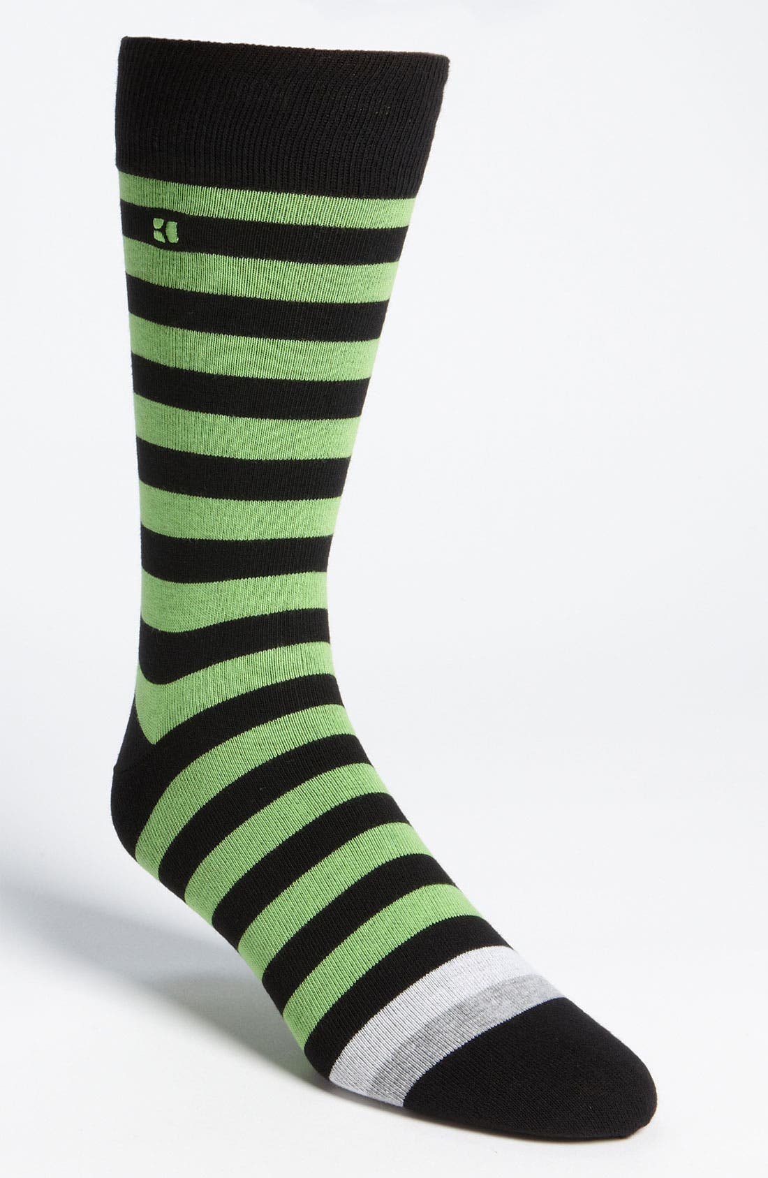 Alternate Image 1 Selected - BOSS Orange Stripe Socks