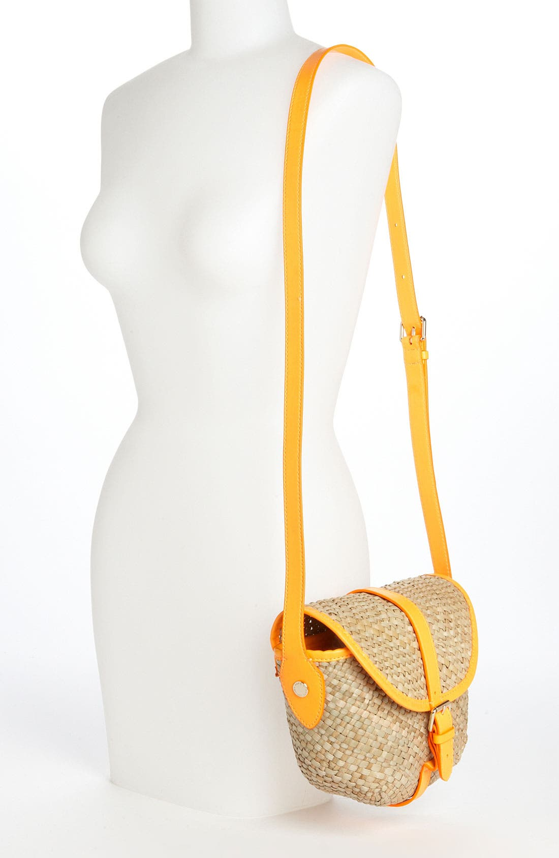Alternate Image 2  - MARC BY MARC JACOBS 'Preppy' Straw Canteen Bag