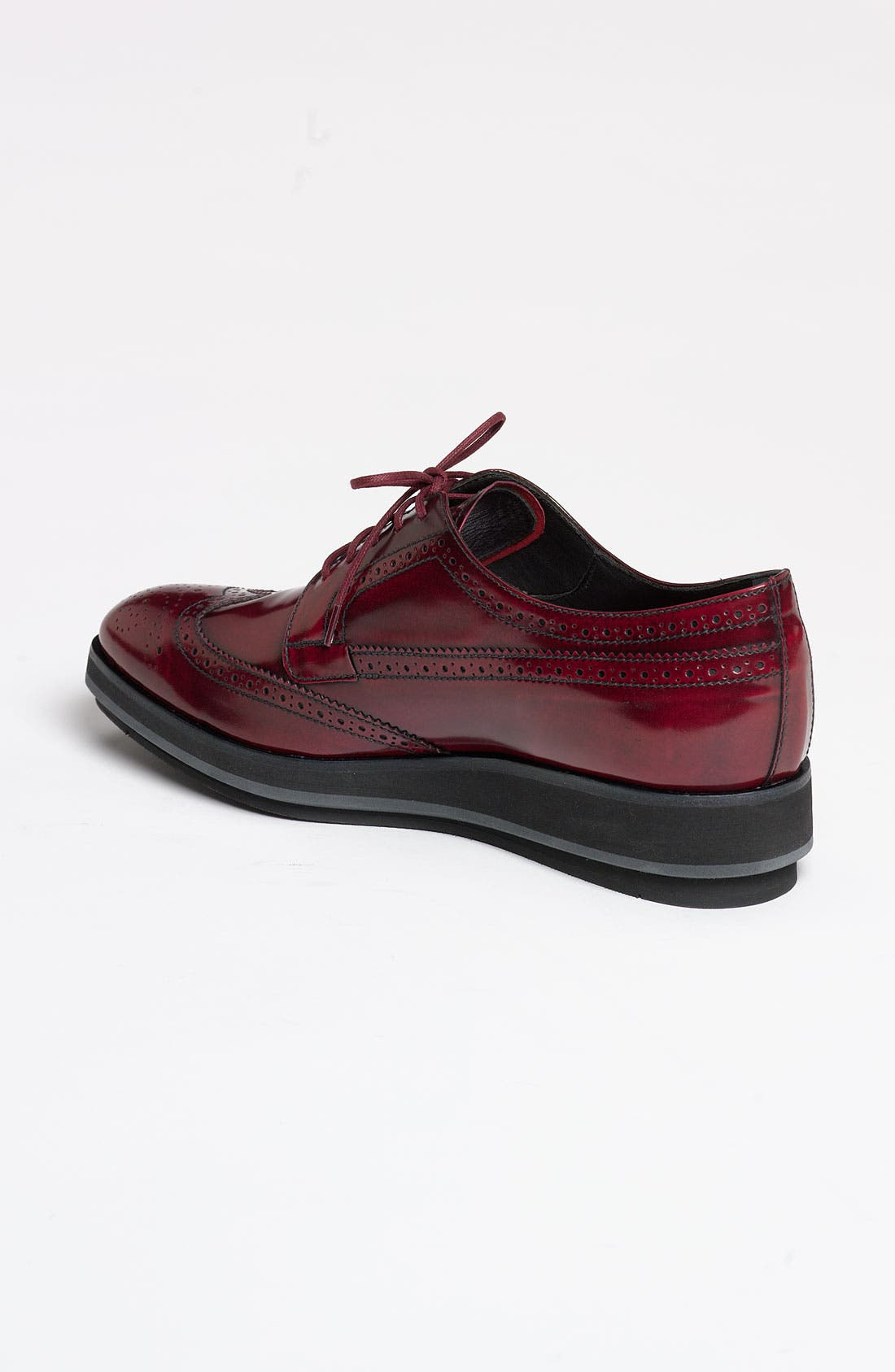 Alternate Image 2  - Prada Brogue Platform Oxford