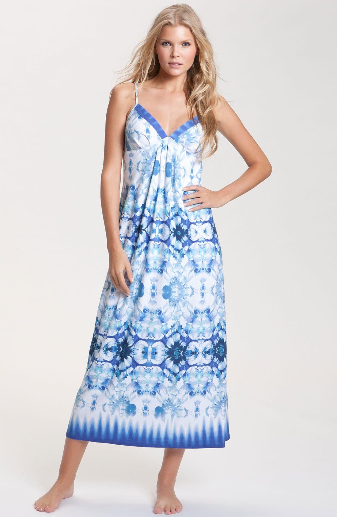 Alternate Image 1 Selected - Nicole Miller 'Petal Ombré' Nightgown