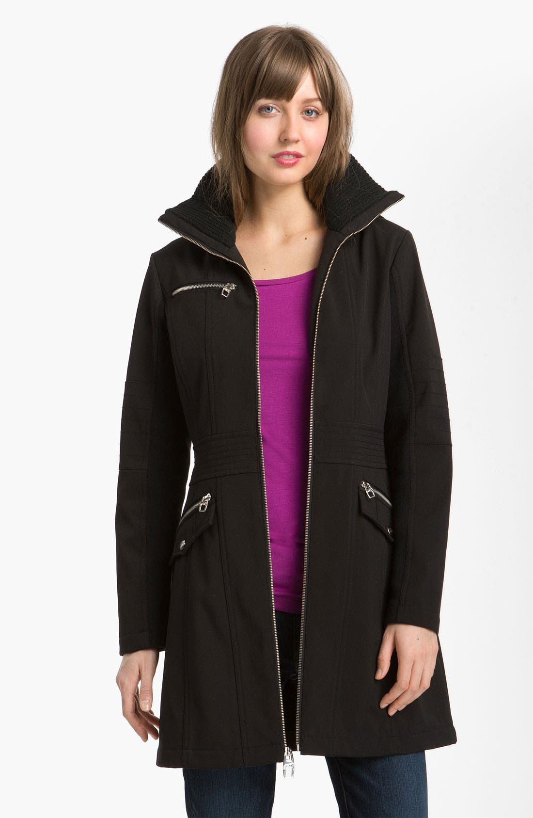 Main Image - Miss Sixty Walker with Detachable Hood