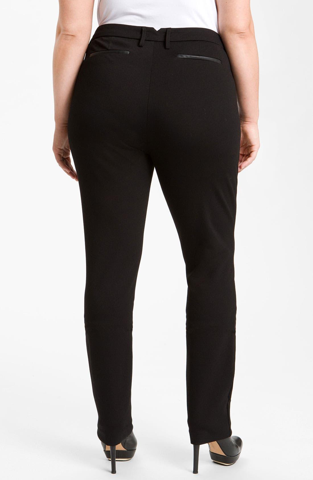 Alternate Image 1 Selected - NYDJ Stretch Ponte Knit Pants (Plus)