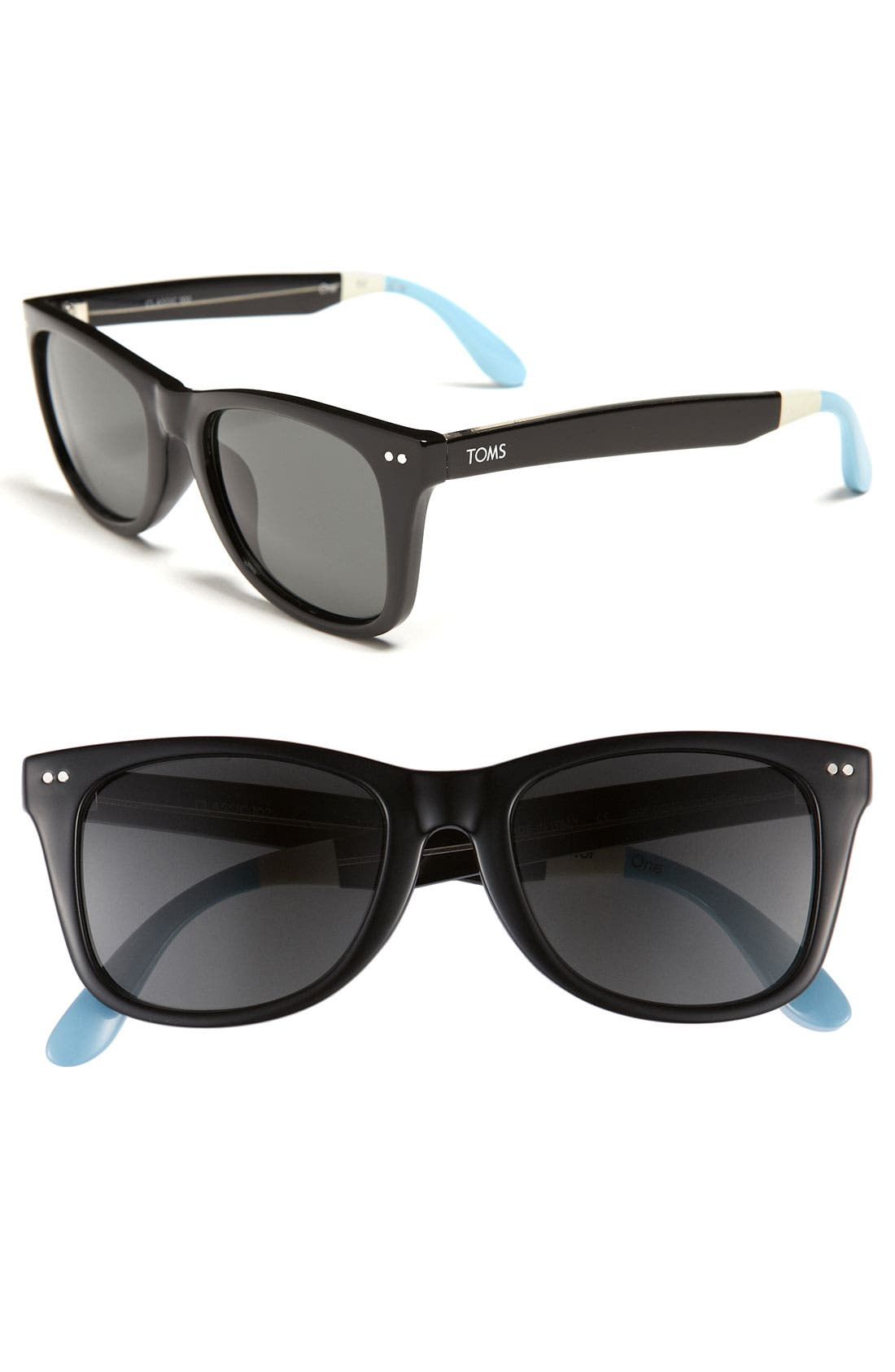 Alternate Image 1 Selected - TOMS 'Classic 102' 52mm Polarized Sunglasses