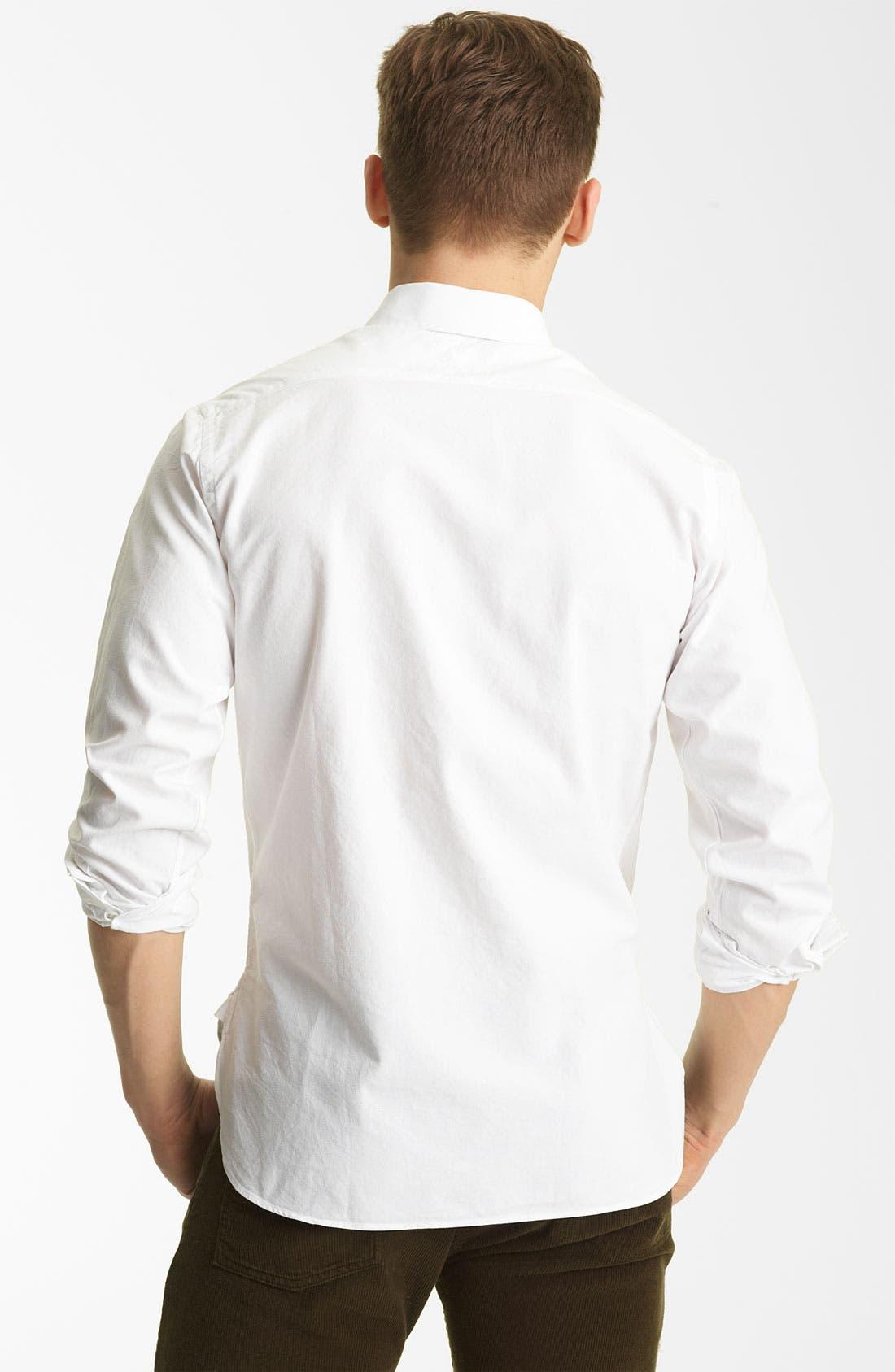 Alternate Image 2  - Billy Reid 'Monogram' Oxford Shirt