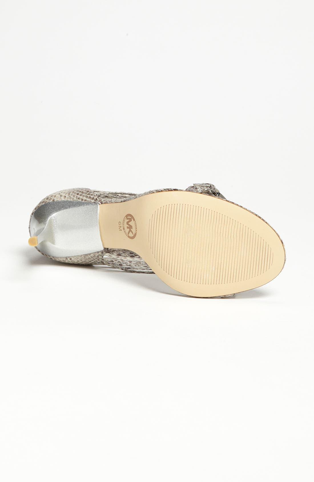Alternate Image 4  - MICHAEL Michael Kors 'Molly' Sandal