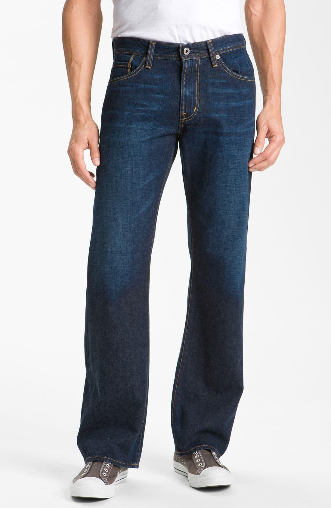 Alternate Image 1 Selected - AG Jeans 'Hero' Relaxed Leg Jeans (Barrow)