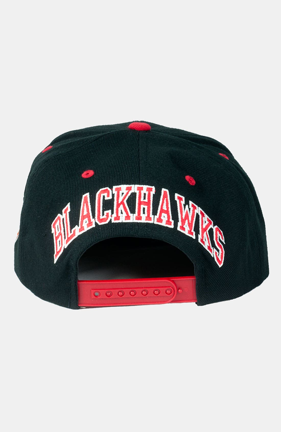 Alternate Image 3  - American Needle 'Blackhawks - Blockhead' Snapback Baseball Cap