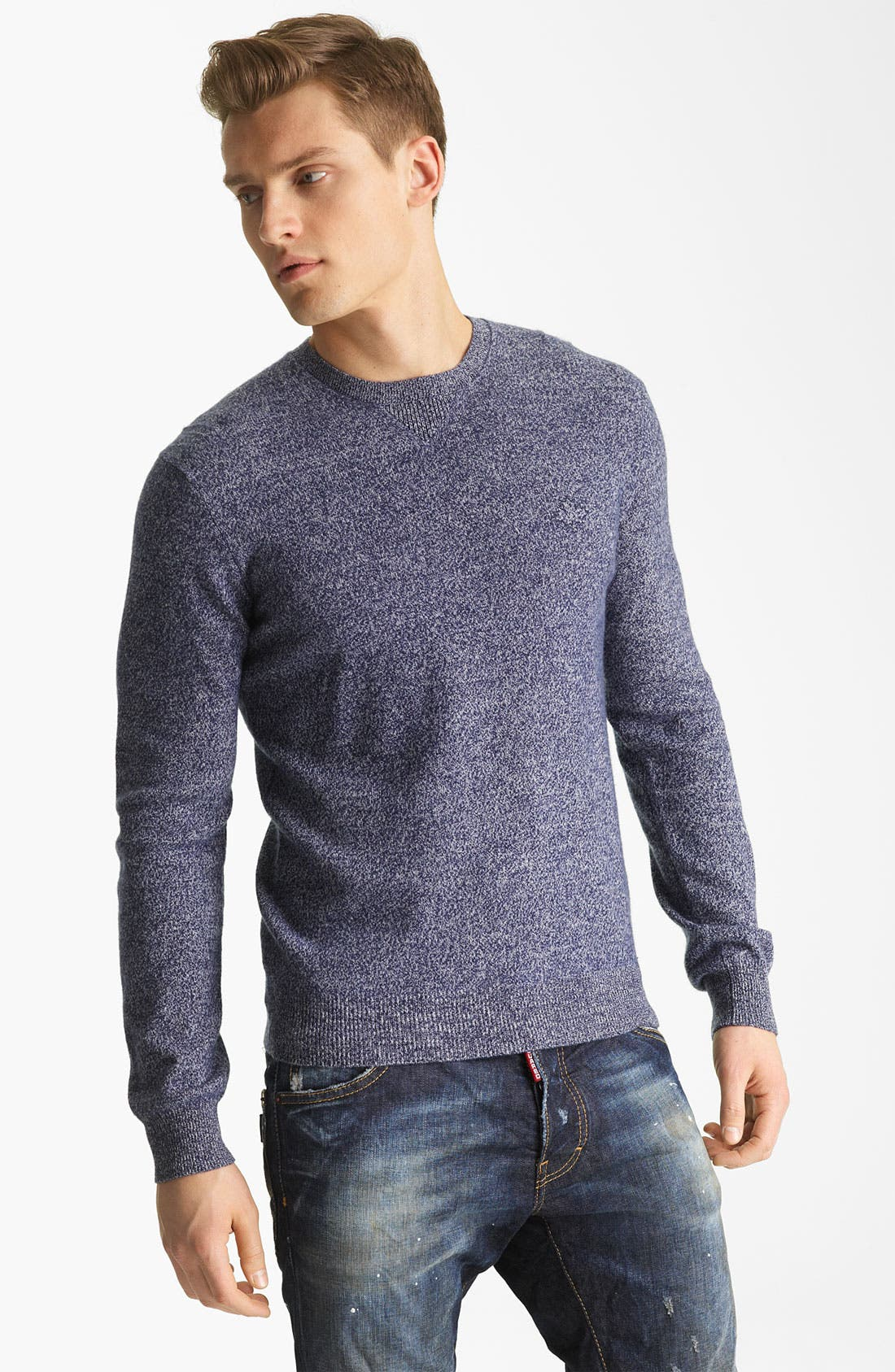 Alternate Image 1 Selected - Dsquared2 Wool Crewneck Sweater
