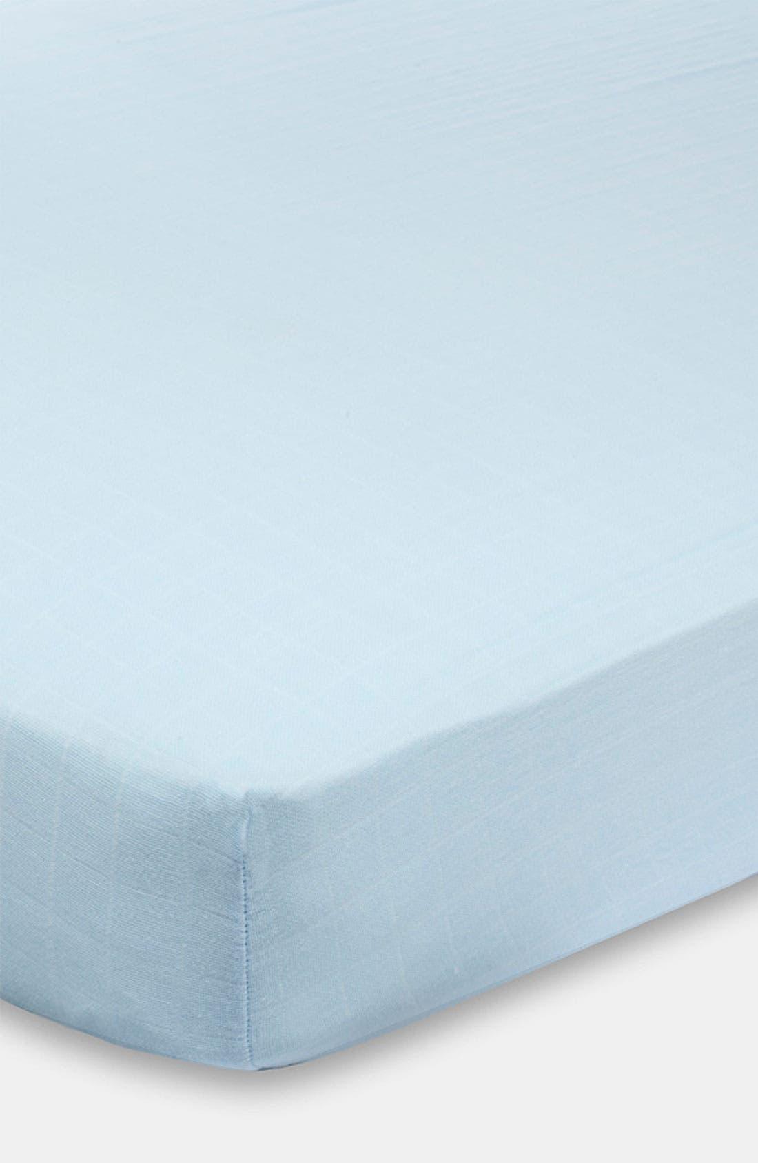 Main Image - aden + anais Classic Crib Sheet