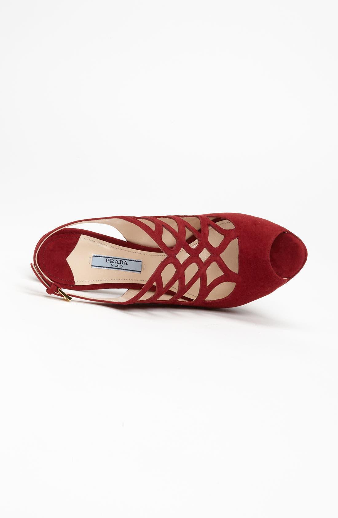 Alternate Image 3  - Prada Cutout Sandal