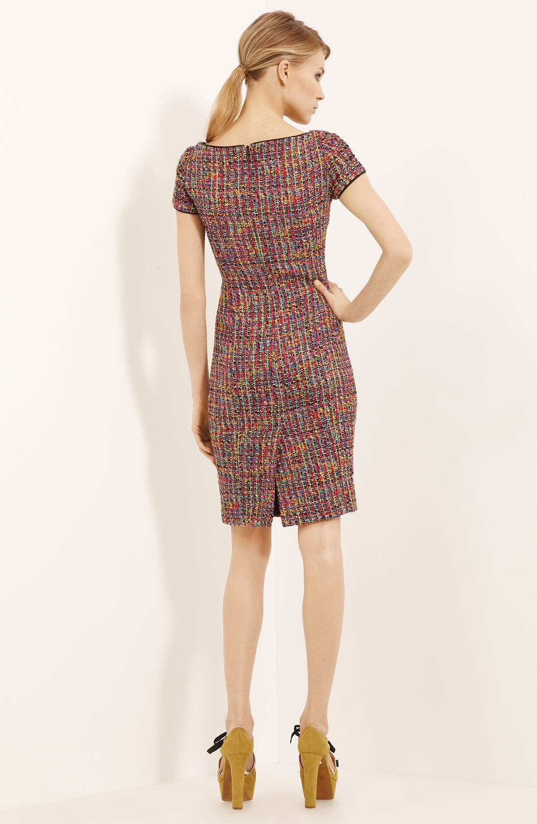 Alternate Image 2  - Moschino Cheap & Chic Tweed Dress
