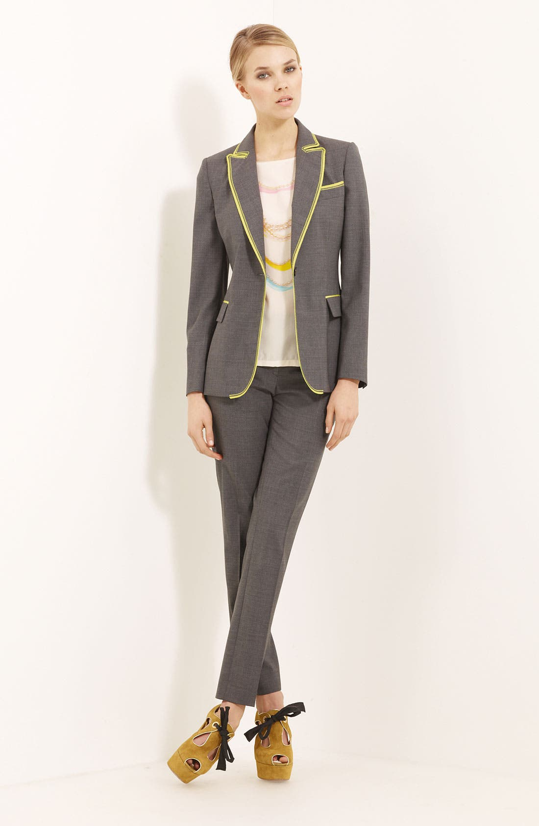 Alternate Image 1 Selected - Moschino Cheap & Chic Jacket & Trousers
