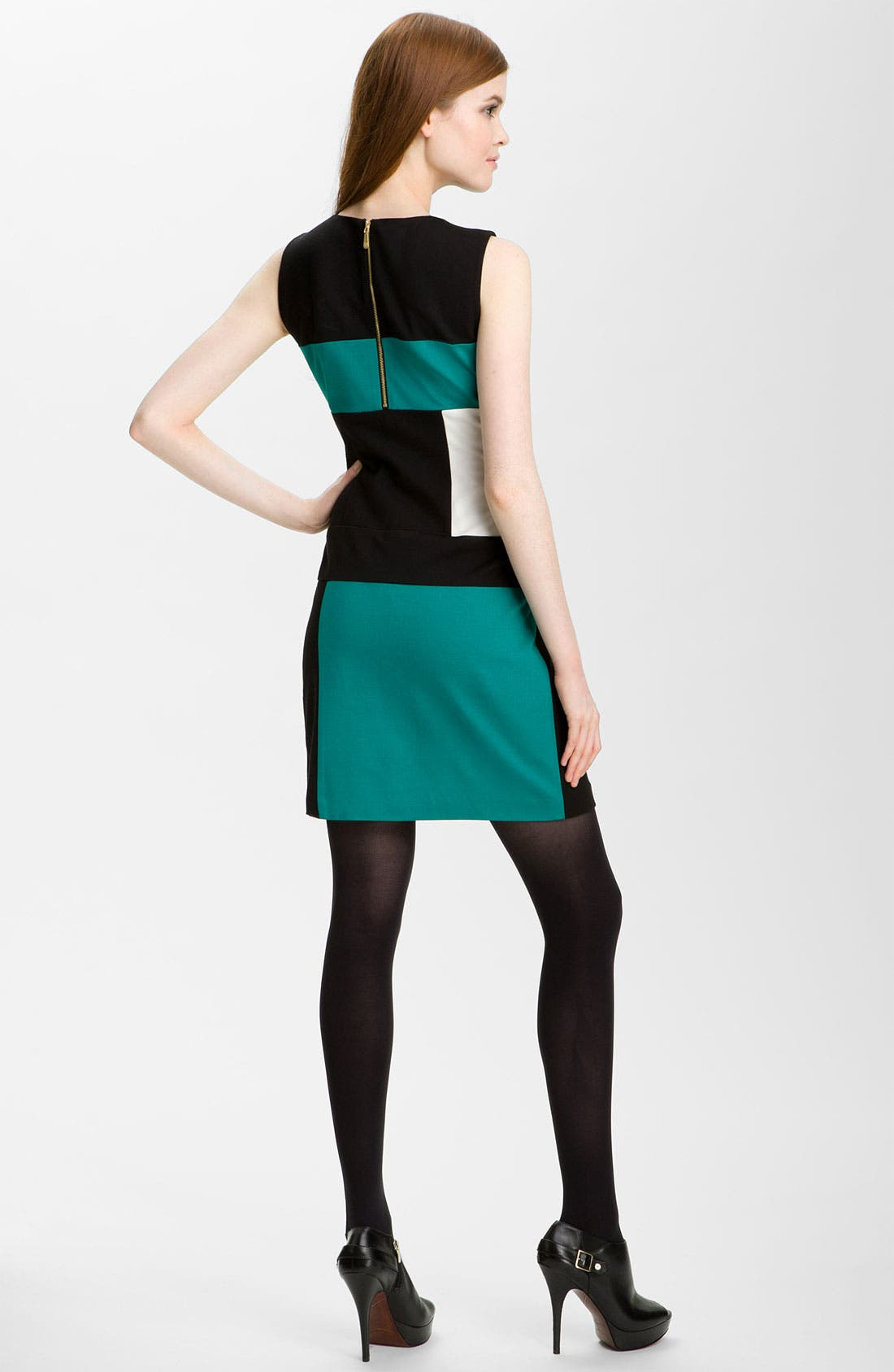Alternate Image 2  - Vince Camuto Sleeveless Colorblock Dress