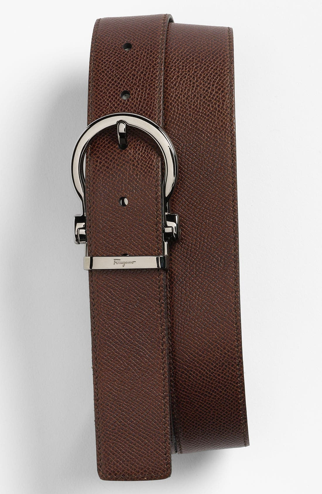 Alternate Image 1 Selected - Salvatore Ferragamo Reversible Belt