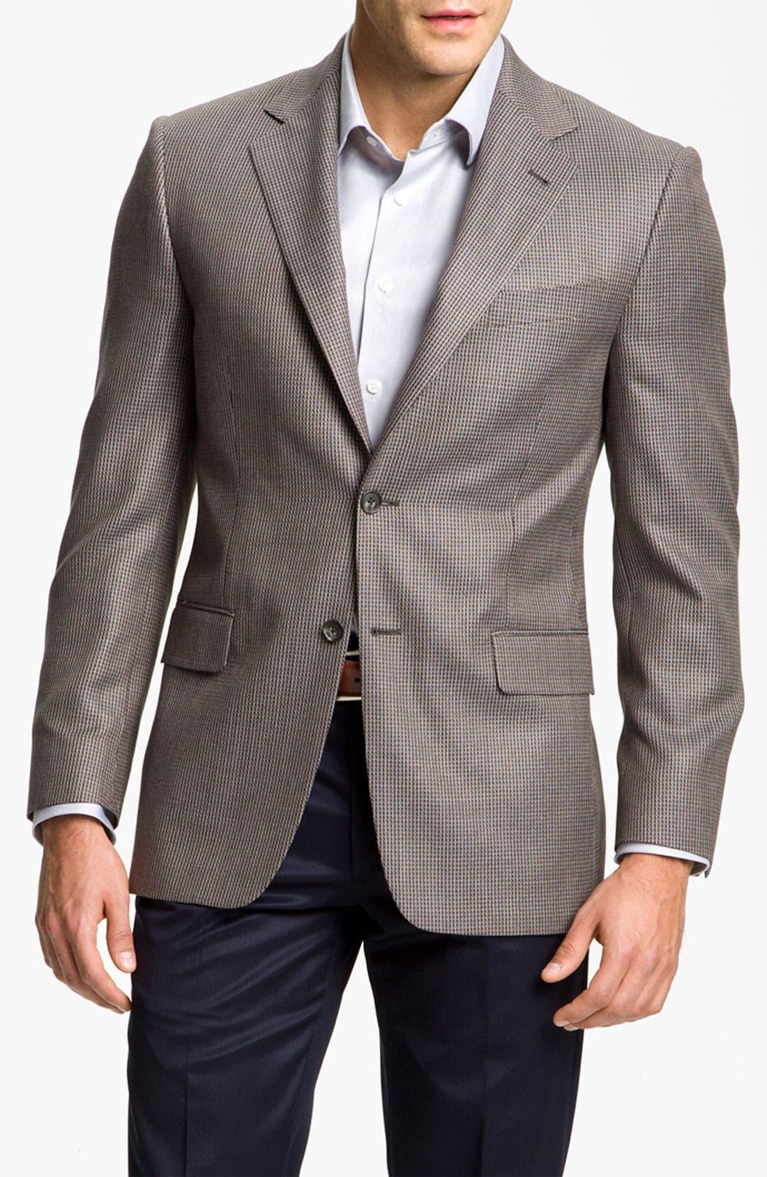 Main Image - Joseph Abboud 'Signature Silver' Sportcoat