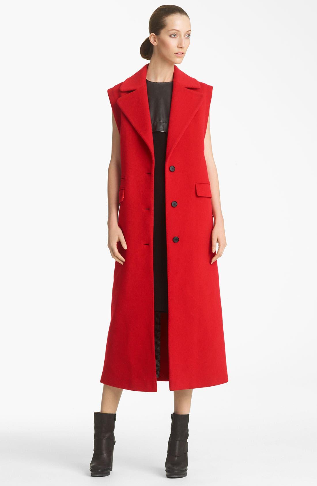 Alternate Image 1 Selected - Jean Paul Gaultier Long Vest
