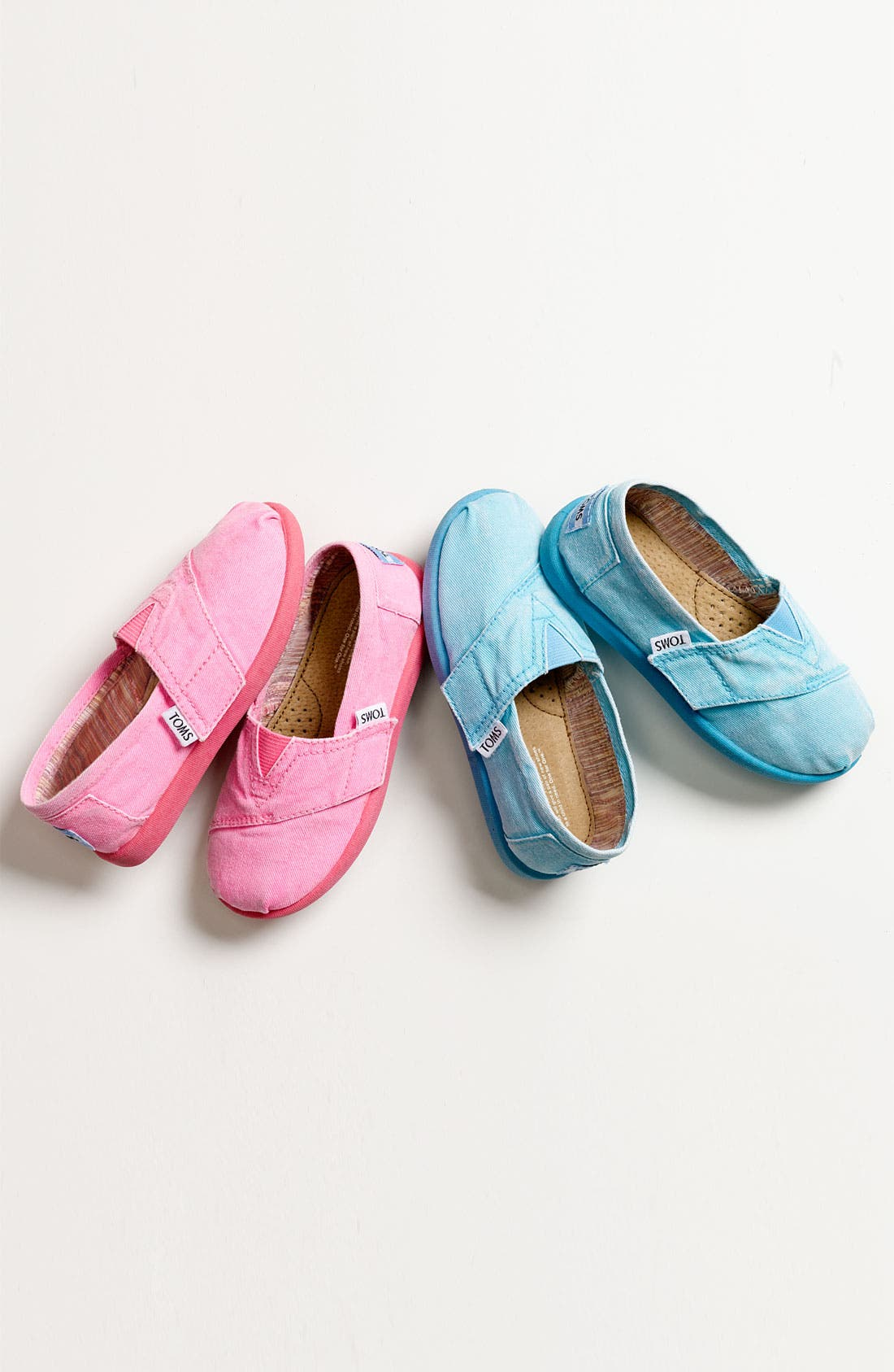 Alternate Image 5  - TOMS 'Classic Tiny - Palmetto' Canvas Slip-On (Baby, Walker & Toddler)