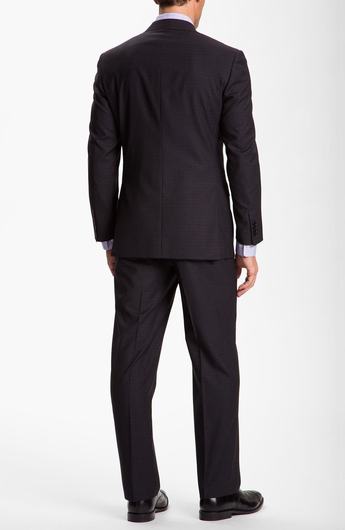 Alternate Image 3  - Canali Windowpane Wool Suit