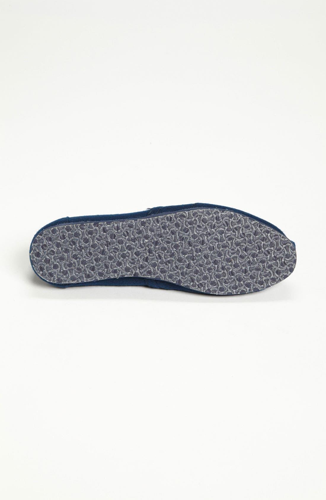 Alternate Image 4  - TOMS 'Classic' Woolen Slip-On (Women) (Nordstrom Exclusive)