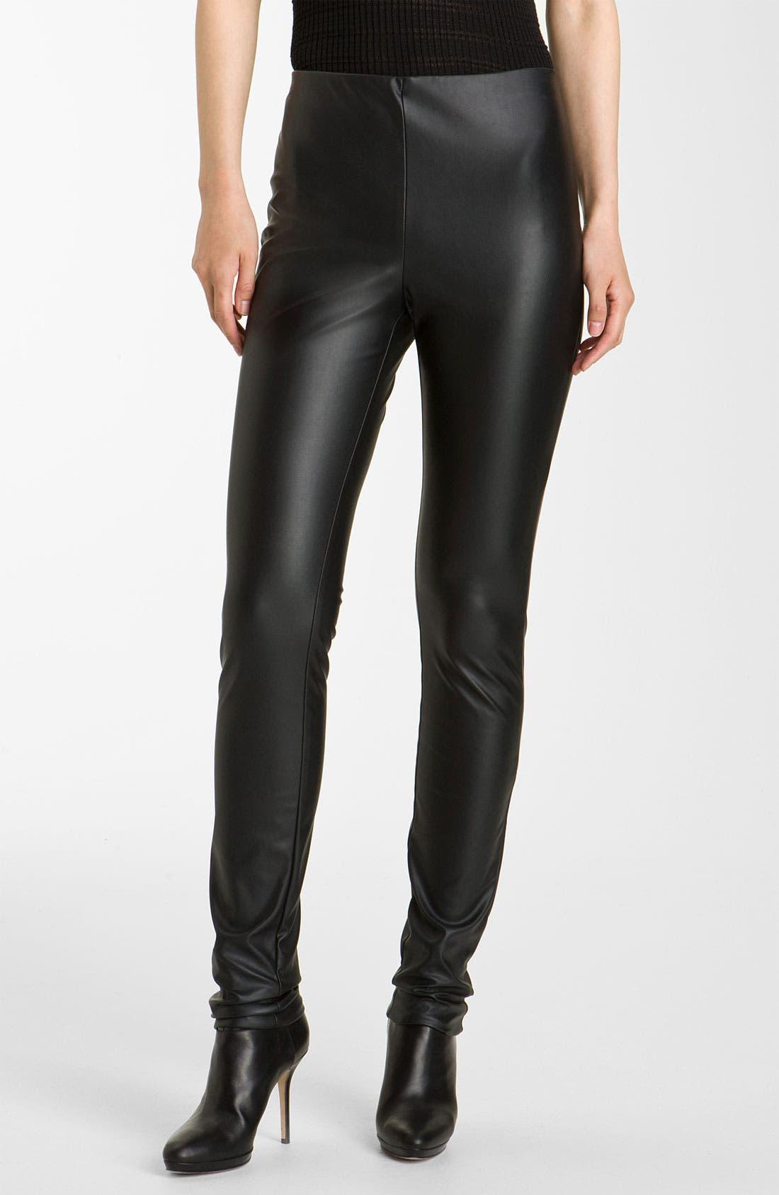 Main Image - M Missoni Faux Leather Leggings