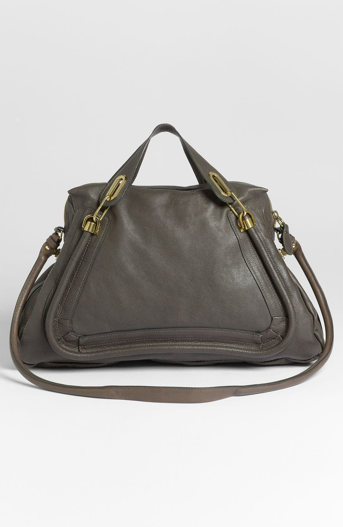 Alternate Image 4  - Chloé 'Paraty - Large' Calfskin Leather Satchel