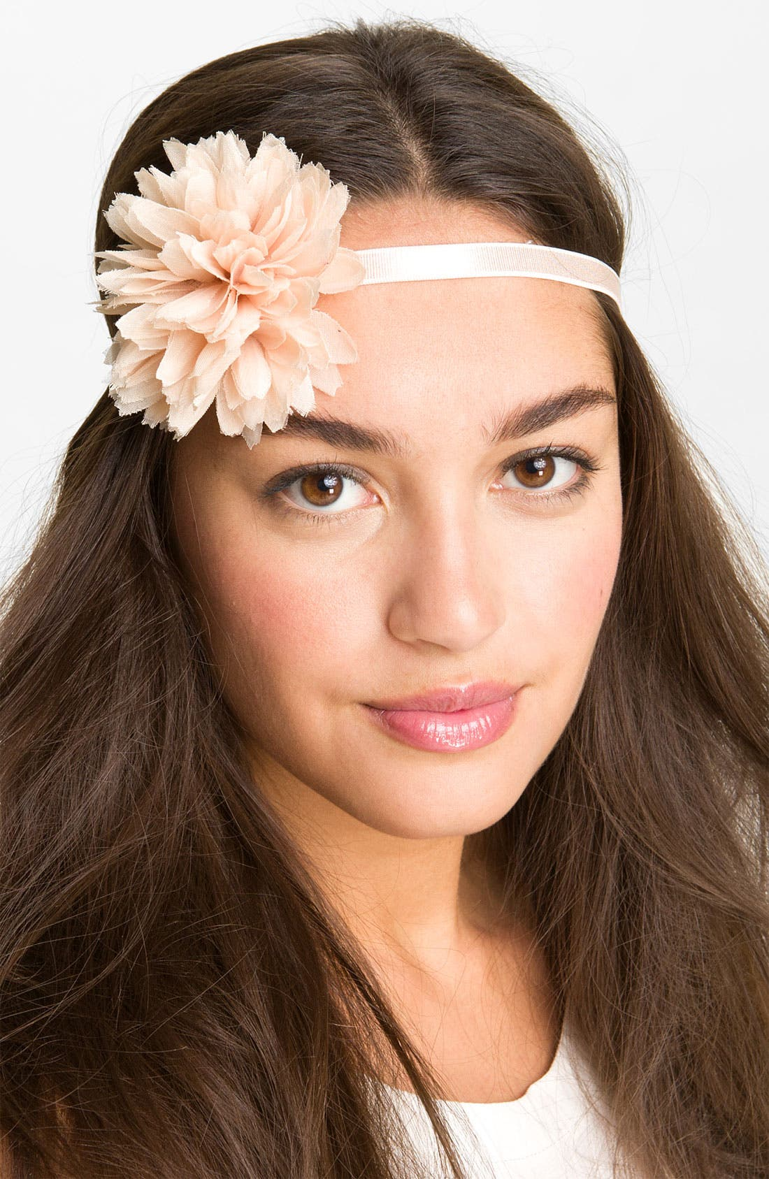 Main Image - Capelli of New York Chiffon Flower Headband
