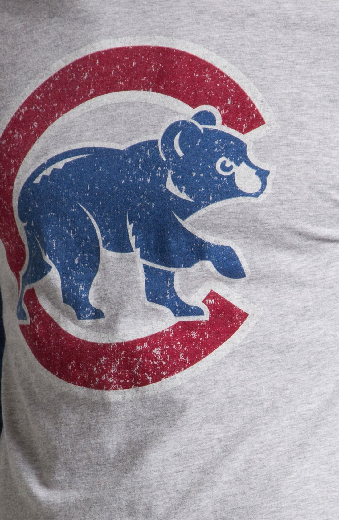 Alternate Image 3  - Wright & Ditson 'Chicago Cubs' Baseball T-Shirt