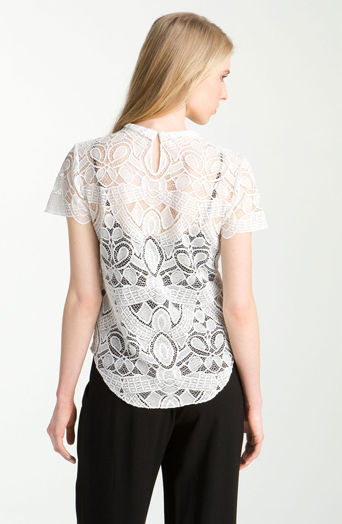 Alternate Image 2  - L'AGENCE Lace Blouse