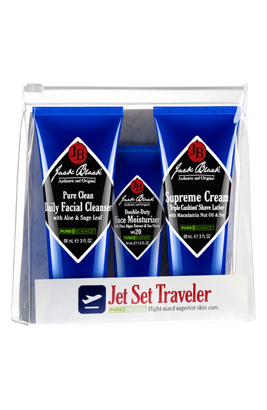 JACK BLACK 'PureScience® Jet Set Traveler' Gift Set