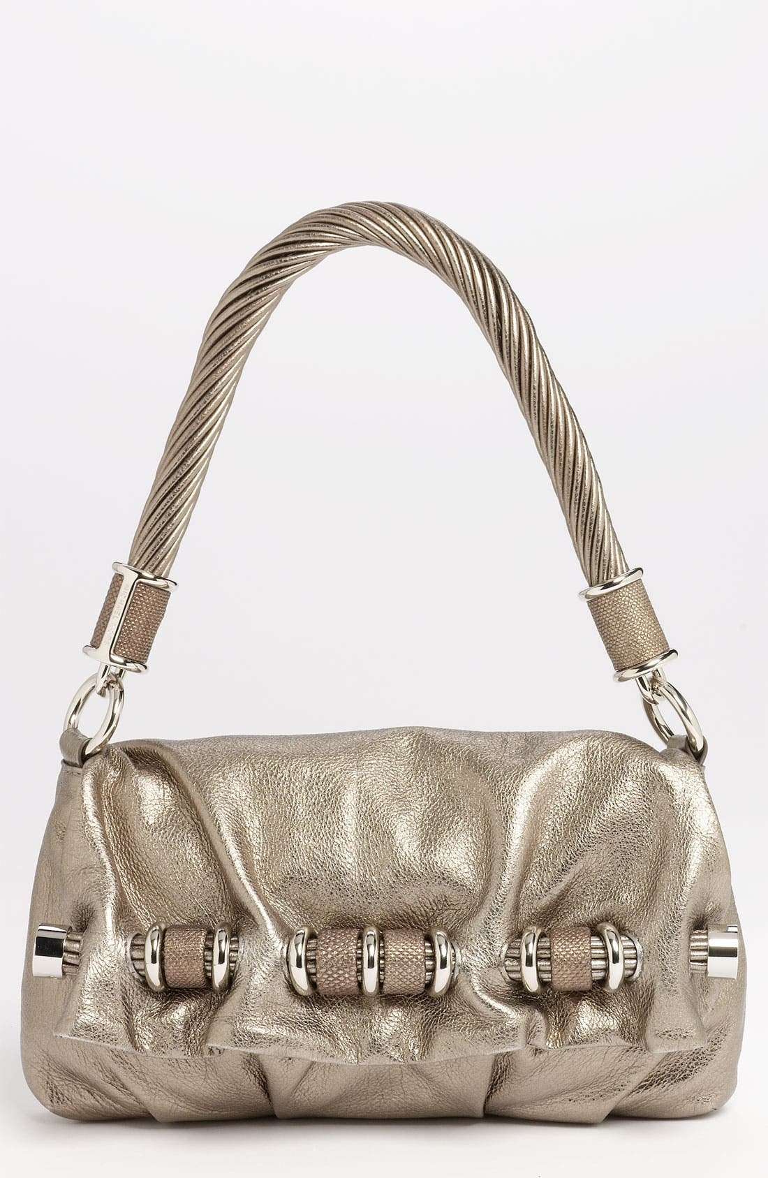 Alternate Image 1 Selected - Michael Kors 'Tonne' Leather Shoulder Bag