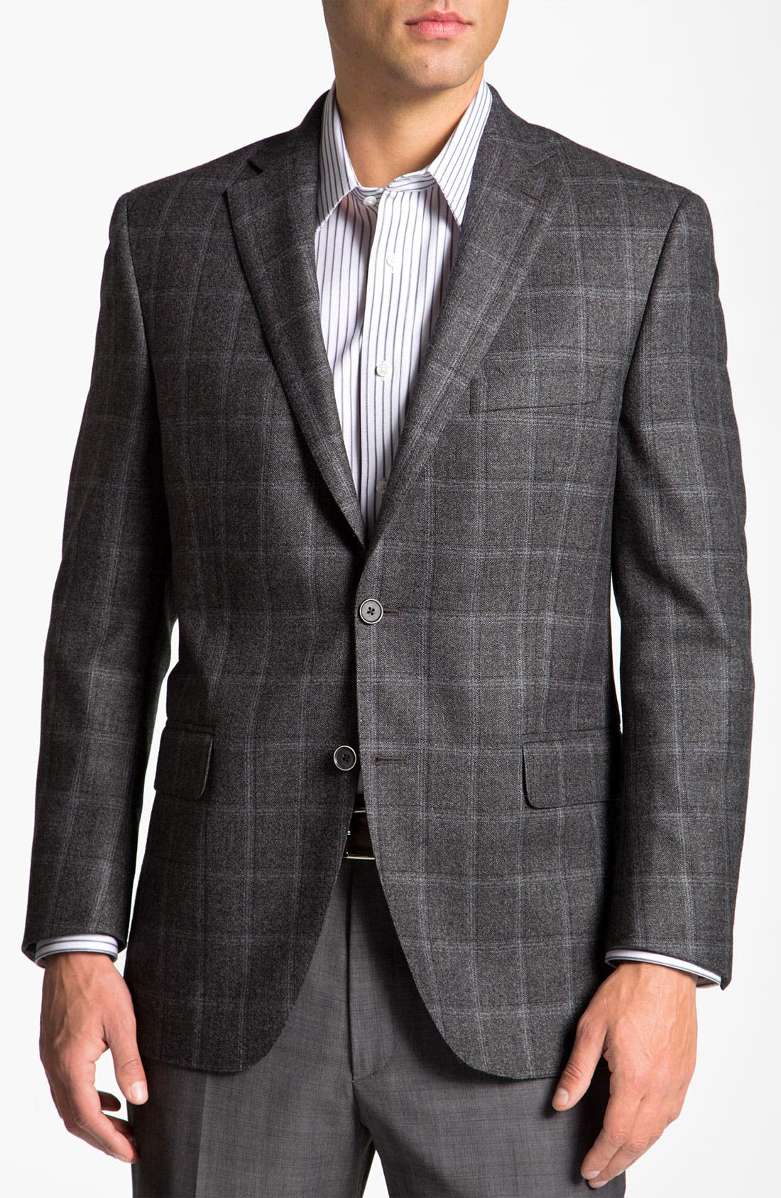 Alternate Image 1 Selected - Peter Millar Plaid Sportcoat