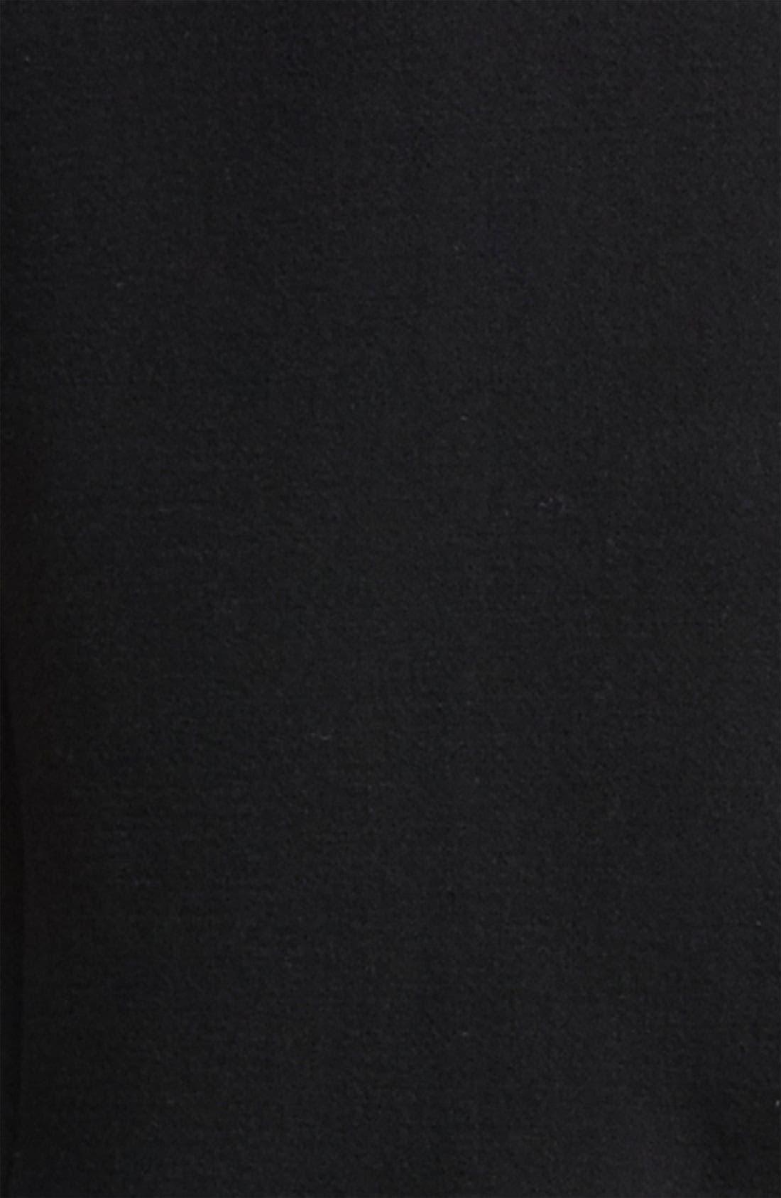 Alternate Image 3  - Dolce&Gabbana Genuine Fur Collar Wool Blend Coat
