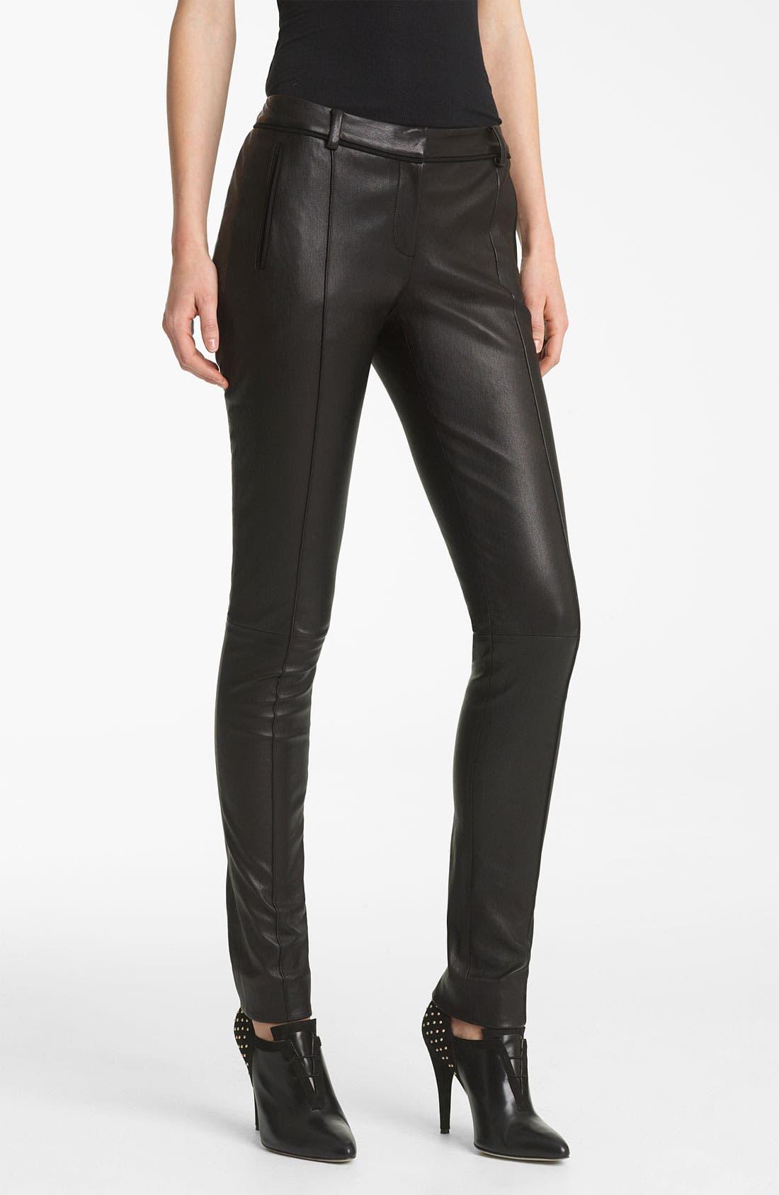 Alternate Image 1 Selected - Jason Wu Stovepipe Leather Pants